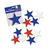 Red, White and Blue 5 Inch Cutouts - 10 pack