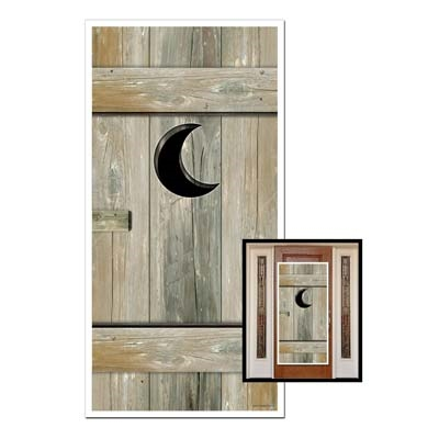 Outhouse Western Door Cover - Bartz s Party Stores f855f63143b1