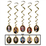 American Presidents Whirls Decorations
