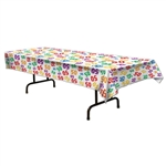 Multi Color 50 Number Tablecover