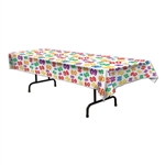 Multi Color 60 Number Tablecover
