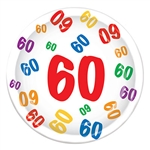 60th 9 inch Dinner Plates