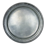 Pewter 9 inch Paper Plates
