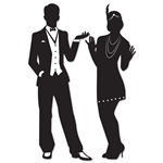 Great 20's Silhouettes Cutouts