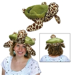 Sea Turtle Plush Hat