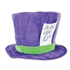 ALICE WONDERLAND PLUSH MAD HATTER HAT