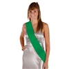 Satin Sash Green