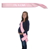 It's a Girl! Satin Sash