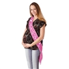 "Pink ""Mom To Be"" Sash"