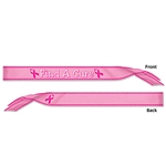 Find A Cure Satin Sash