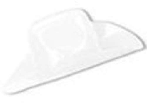 White Miniature Plastic Cowboy Hat - Bartz s Party Stores 7ba75772d655
