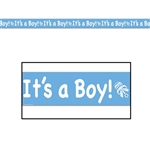 It's A Boy Party Tape