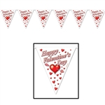 HAPPY VALENTINES DAY PENNANT BANNER