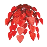 RED HEART CASCADE DECORATION