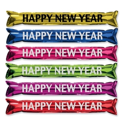 "Assorted ""Happy New Year"" Boom Sticks"