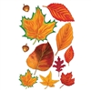 FALL LEAF CUTOUTS 11 PIECE