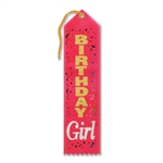 BDAY GIRL AWARD RIBBON