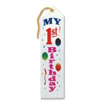 MY FIRST BDAY AWARD RIBBON