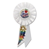 A GREAT TEACHER ROSETTE RIBBON