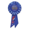 BIRTHDAY SURVIVOR ROSETTE AWARD RIBBON