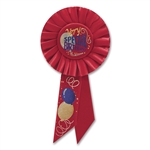 VERY SPECIAL BDAY ROSETTE AWARD RIBBON
