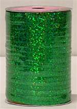 300' EMERALD GREEN HOLOGRAPHIC RIBBON