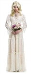 Lost Soul White Gown Adult Costume - Medium