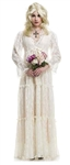 Lost Soul White Gown Adult Costume - Small