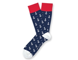 Anchors Away Small Socks