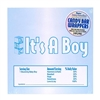 It's A Boy Candy Bar Wrapper