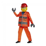 Lego Construction Minifigure Deluxe Kids Costume - Small