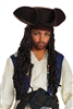 JACK SPARROW CHILD'S HAT WITH BRAIDS