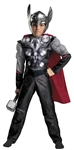 The Avengers - Thor Muscle Chest Child 4-6 Costume