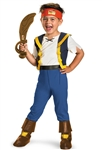 Jake and the Never Land Pirates Deluxe Kids 4-6 Costume
