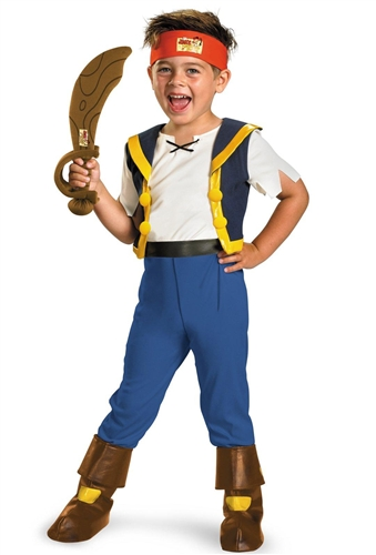 d401d01267e4 Jake and the Never Land Pirates Deluxe Kids 3T-4T Costume - Bartz s ...