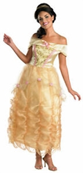 Belle Deluxe Large ( 12-14 ) Adult Costume