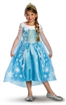 Disney Frozen Deluxe Elsa Child Costume Medium