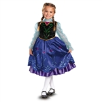 Frozen Anna Deluxe Child Small 4-6X Costume