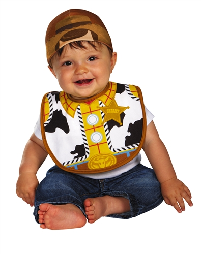 Woody Hat and Bib Baby Costume  sc 1 st  Bartzu0027s : woody child costume  - Germanpascual.Com