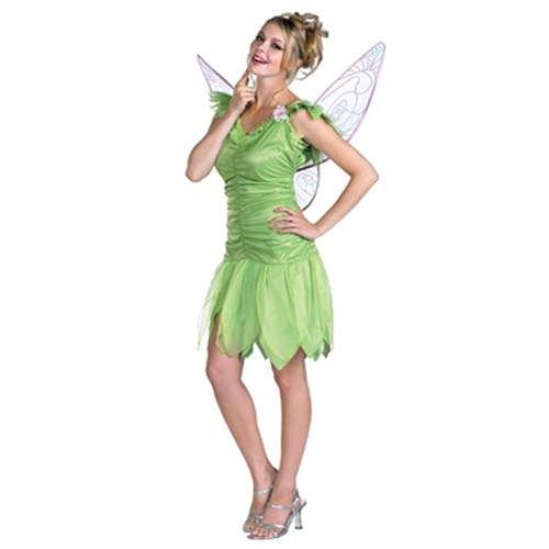 tinkerbell adult costume large