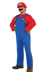 Super Mario Brothers Mario Adult Costume - XL