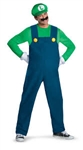Luigi Super Mario Brothers Adult XL Costume