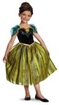 Disney Frozen Deluxe Anna Child Costume Small (4-6x)