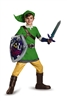 Legend of Zelda Dlx Link Kid's Extra Large Costume