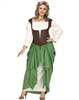 WENCH PLUS SIZE ADULT COSTUME