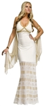 GOLDEN GODDESS S/M ADULT COSTUME