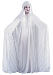 White Hooded Cape - 68 inches