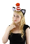 Dr. Seuss Cat in the Hat Headband with Ears