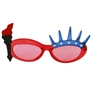 LIBERTY SUNGLASSES BLUE AND RED