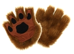 Fingerless Paws - Brown